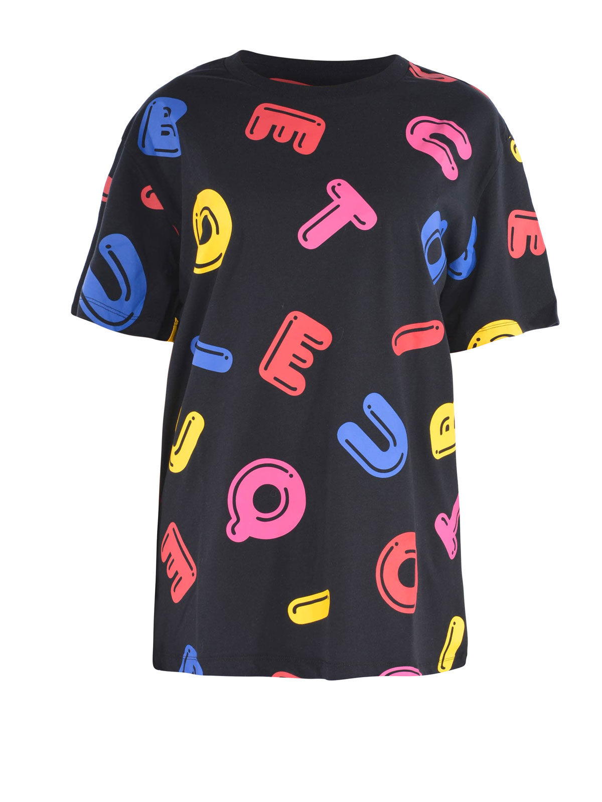 Moschino Boutique ALL OVER PRINTED OVER T SHIRT T
