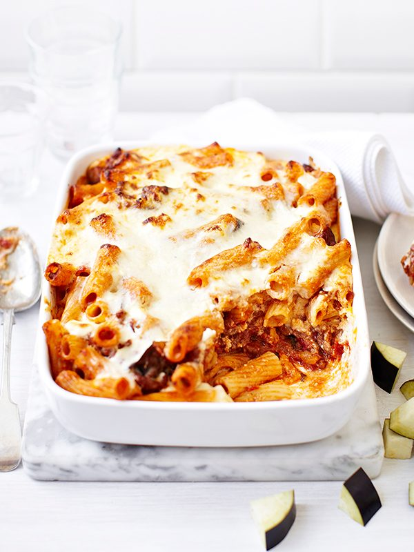 Greek Pastitsio Recipe With Aubergine and Lamb