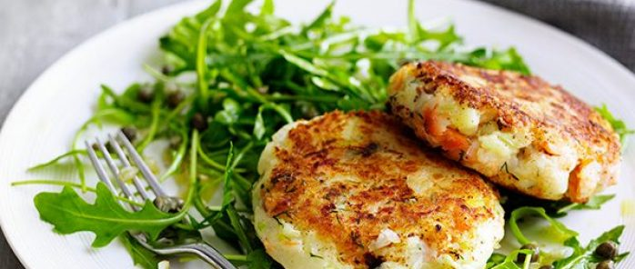 Smoked Salmon Cakes Recipe