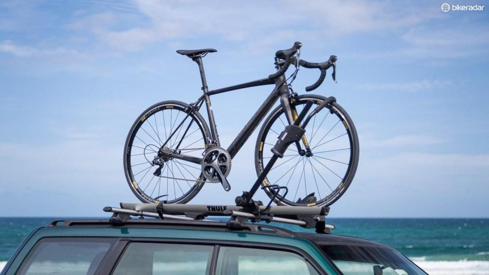 thule 594xt sidearm bike rack review