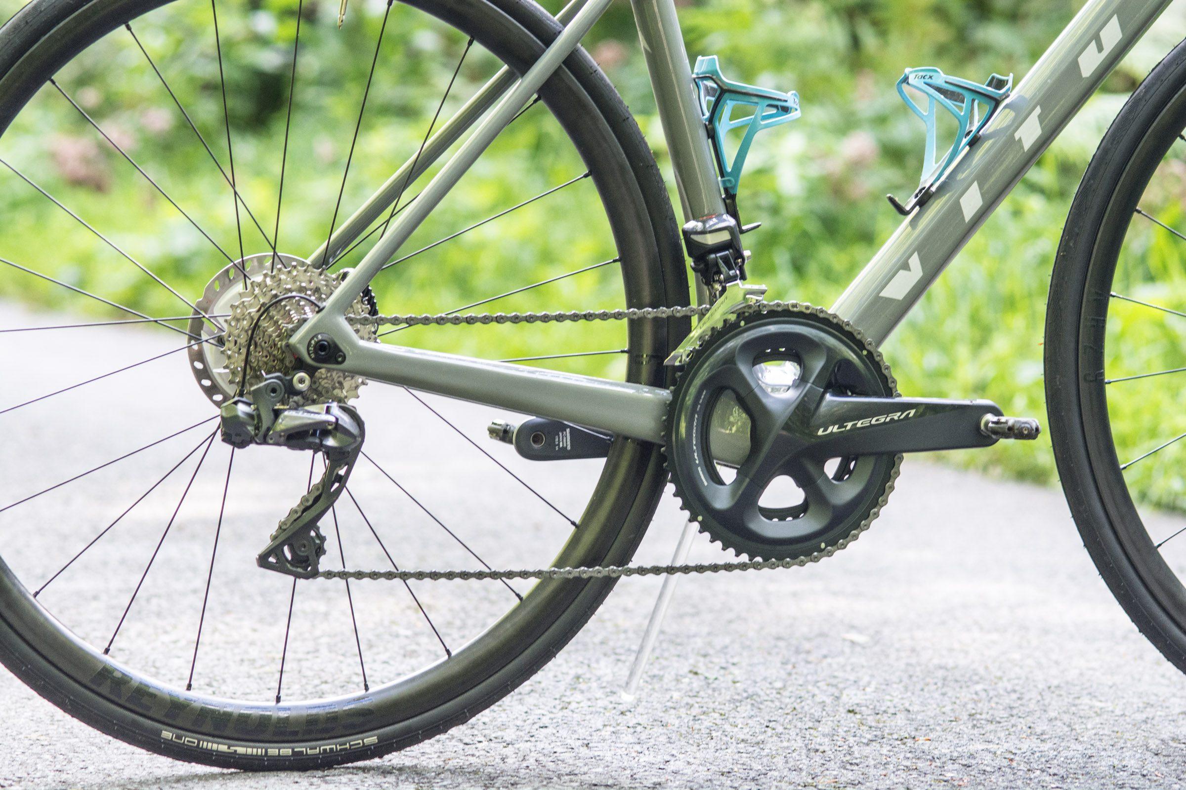 バイクのUltegraDi2グループセット
