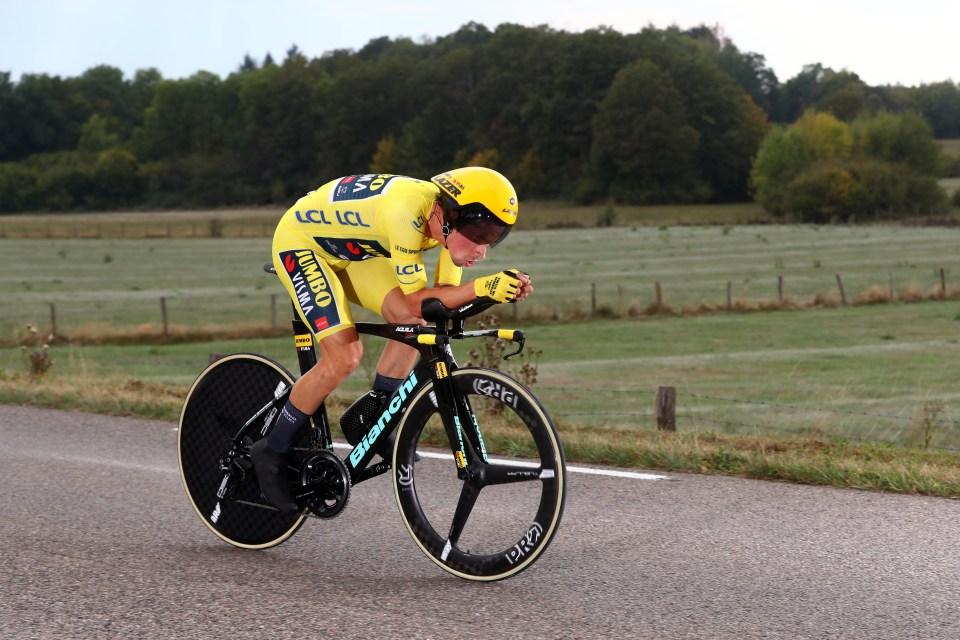 https www bikeradar com features pro bike tour de france 2020 time trial tech gallery