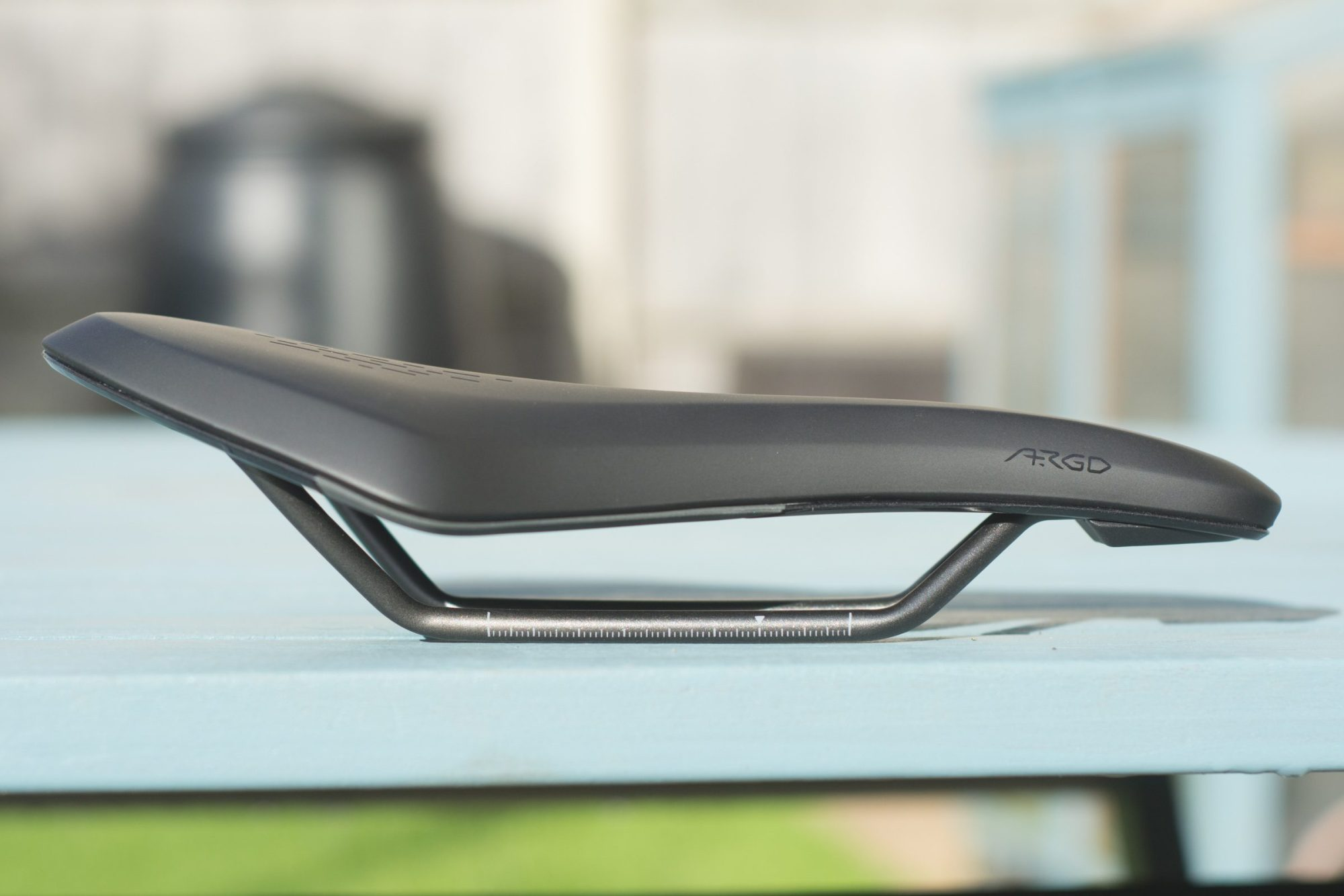 The gravel-specific Fizik Terra Argo short-nose saddle has an adorable built-in drain