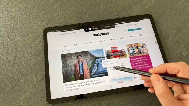 Samsung Galaxy Tab S7 Review Great All Round Tablet For Pro Users Radio Times