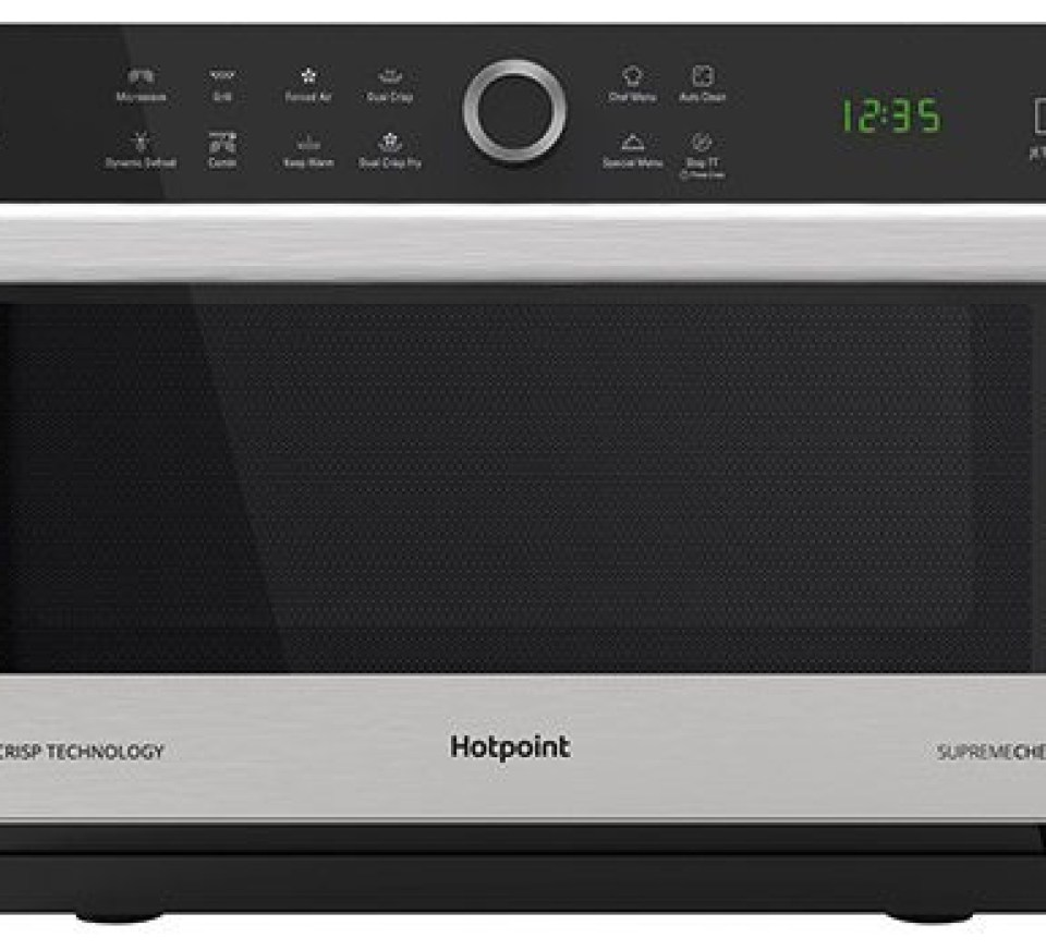 hotpoint supreme chef microwave review