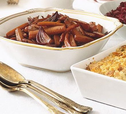 Caramelised carrots & onions recipe | BBC Good Food