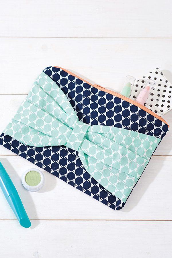 Clutch bag sewing pattern