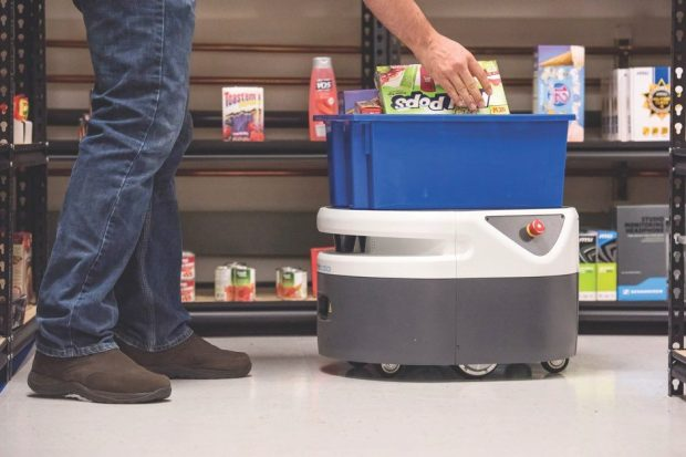 The Fetch Cloud Robotics Platform is a cloud-driven Autonomous Mobile Robot (AMR) solution that addresses material handling and data collection for warehouses © Getty Images
