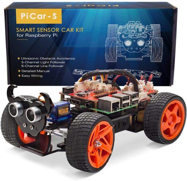 Raspberry Pi Smart Robot Car Kit