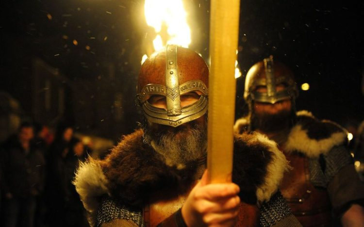 What began as small raids on British coastal towns soon developed into all-out war, as a Great Viking Army arrived with a very different aim: to conquer (Photo credit: ANDY BUCHANAN/AFP via Getty Images)