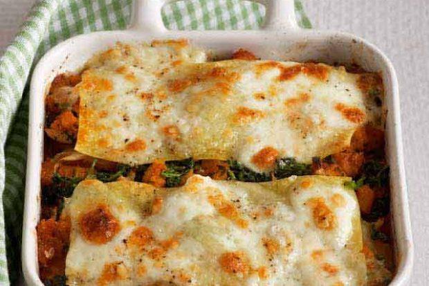 Squash, Ricotta and Sage Vegetarian Lasagne Recipe
