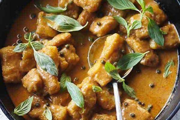 Thai Pollock Curry Recipe