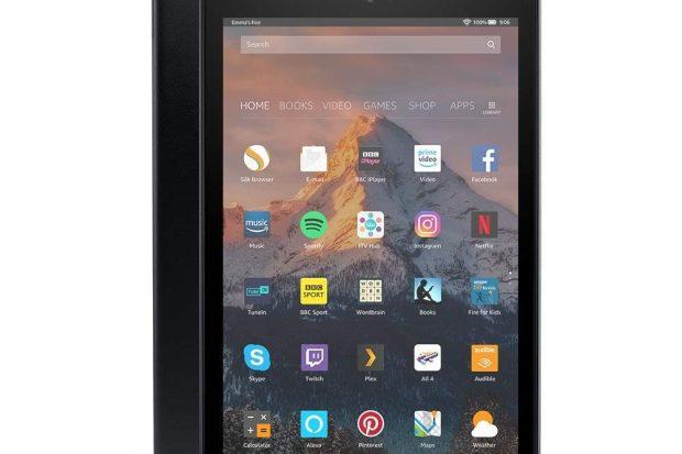 """Fire HD 10 Tablet mit Alexa Freisprecheinrichtung, 10,1 """"1080p Full HD-Display, 32 GB, Schwarz"""