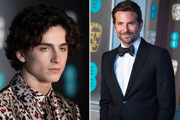 Oscars Nomination Snubs Timothee Chalamet And Bradley Cooper Getty By Thomas Ling
