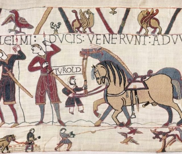 Fig 10 The Depiction Of A Vassal And Jester Of Odo Of Bayeux As A