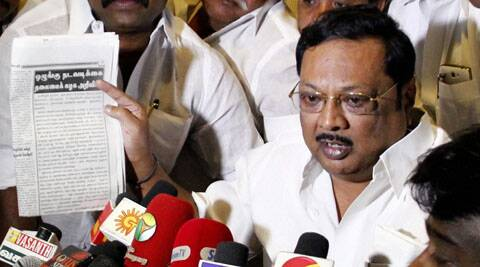 DMK recently suspended Alagiri for alleged anti-party activities. (PTI)