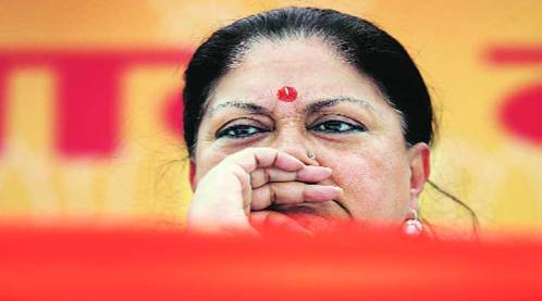 """During Chief Minister Vasundhara Raje's """"sarkar apke dwar"""" programme, parents suggested that a complete ban on exams till Class 8 was not in the best interest of the child."""