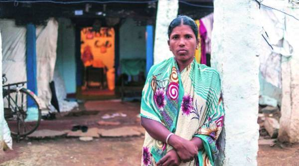 Ravi's wife Yadamma now works as a farm labourer to support her sons. Harsha Vadlamani