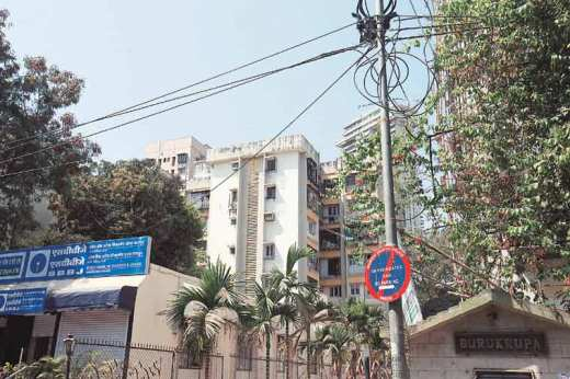 Montana Building (left), where their mother Shikha and her lover were found dead, are both in Andheri's Lokhandwala Complex.