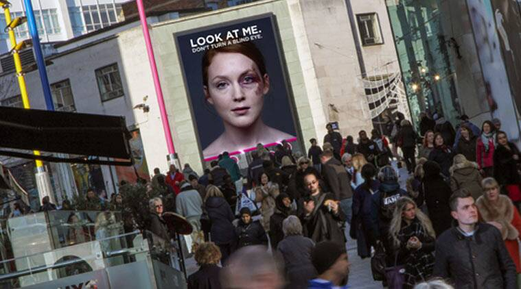 look at me, london campaign, women's aid, wcrs campaign, international women's day