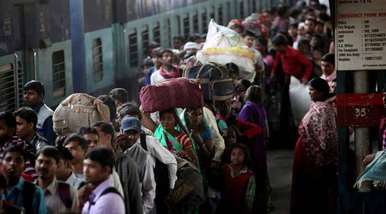 Swacch Bharat - Indian Railways Copyright: Indian Express