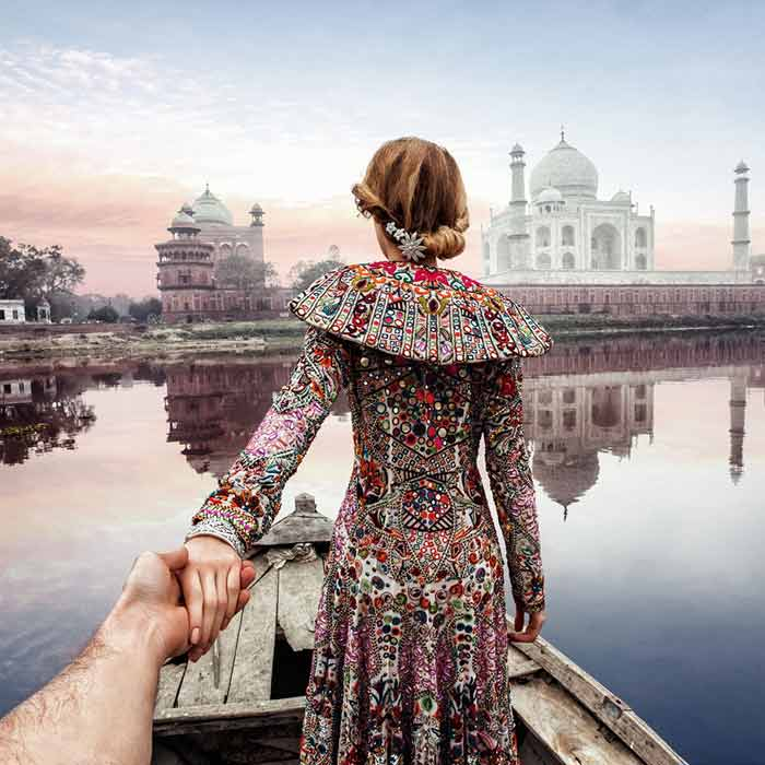 Follow Me if You Can: Photographer's unique picture travelogue makes waves