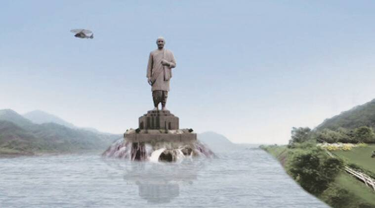 Image result for statue of unity and modi