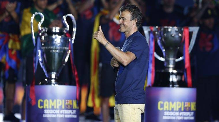 Luis Enrique agrees Barcelona contract extension | Sports News,The Indian Express