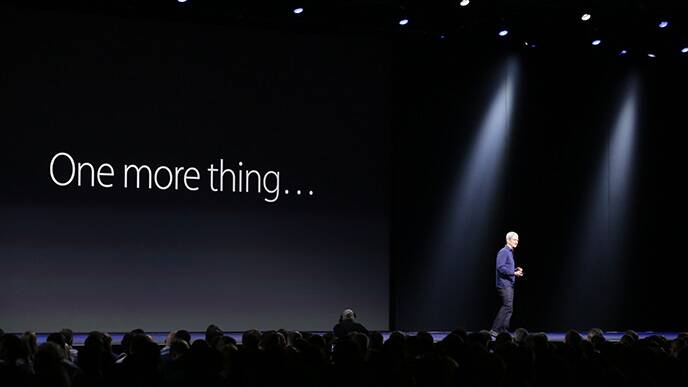 Image result for ONE MORE THING APPLE