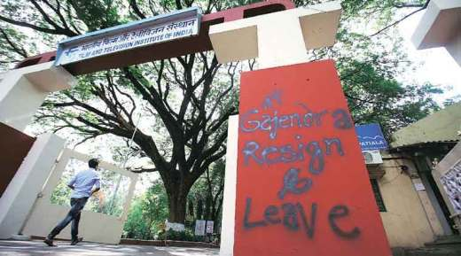 Gajendra Chauhan, FTII row, FTII controversy, FTII chairman row, FTII protest Gajendra Chauhan, FTII  student protest, pune FTII row,  Film and Television Institute of India, FTII news, FTII Gajendra Chauhan, FTII, FTII pune, india news, indian express news