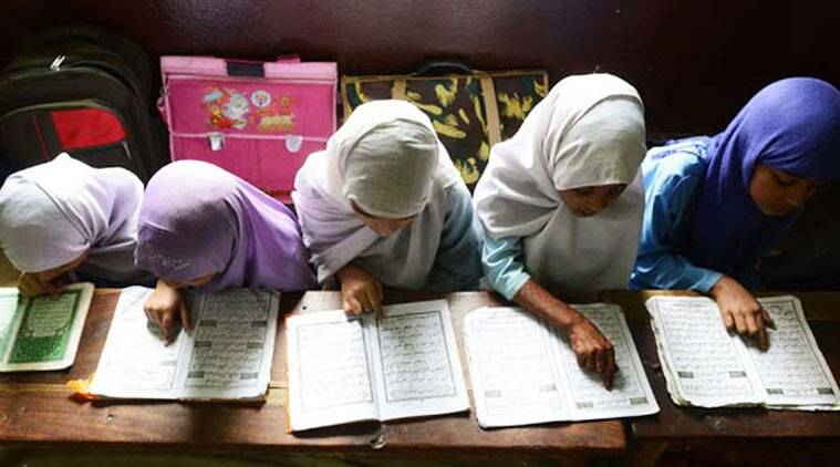 madrasa, maharashtra madrasa, madrasa derecognition, madrasa education, madrasas in india, madrasas in maharashtra, HRD ministry, madrasa education system, madrasa board, muslim education system, educationa news, maharashtra news, Maharashtra madrasa news, india news, altest news, indian express