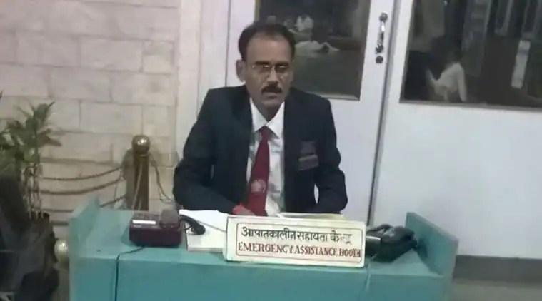 Help desk at Chhatrapati Shivaji Terminus on main line started at 3.15 AM