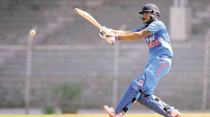 Despite his talent and the fact that he was the first Indian to score an IPL hundred, Pandey has played only one ODI — as part of a second-string team to Zimbabwe. (Source: BCCI)