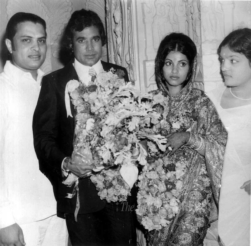 Image result for rajesh khanna wedding