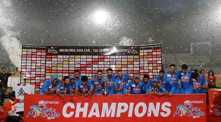 India won the Asia Cup by beating Bangladesh. (Source: AP)