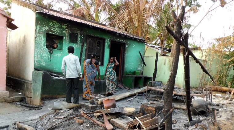 The Dharmapuri riots of 2012 were sparked by an intercaste marriage.