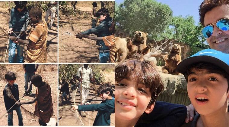 Image result for hrithik hrehaan vacation photo