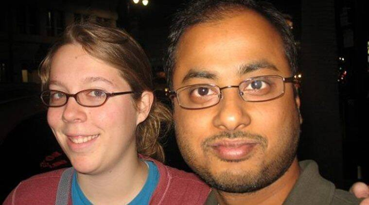 This undated photo shows Ashley Hasti, left, and Mainak Sarkar, who police say carried out a murder-suicide at the University of California, Los Angeles on Wednesday, June 1, 2016 (Facebook via AP)