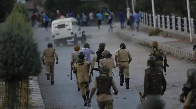 Image result for kashmir 'War Zone'  Indian