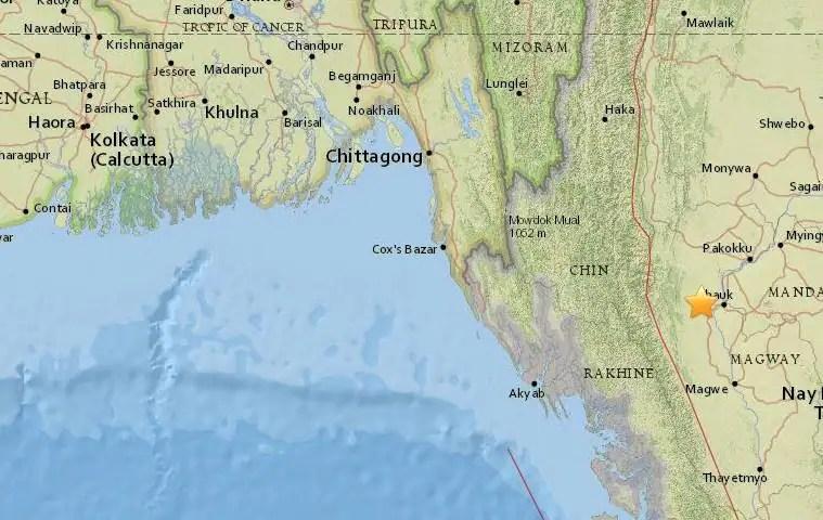 Myanmar earthquake leaves east India shaken, tremors in Bengal, Assam