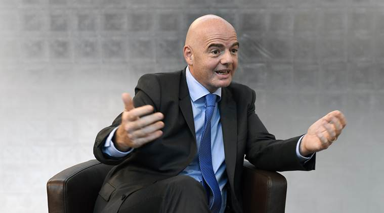 Image result for FIFA set to vote on Gianni Infantino's 48 team world cup plan
