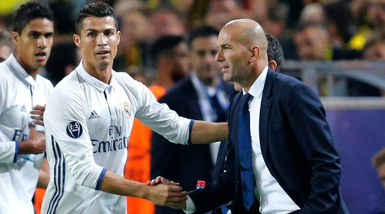 Image result for Zidane: Dortmund draw is difficult accept