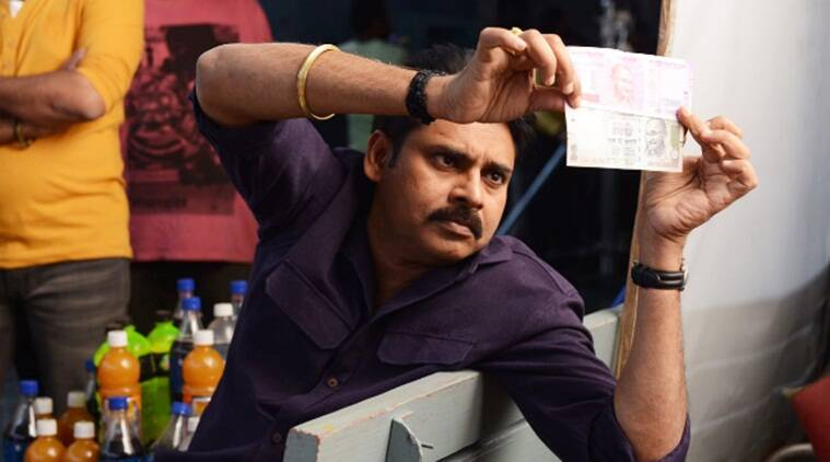 Lol Alert These Pics Of Pawan Kalyan Inspecting New Currency