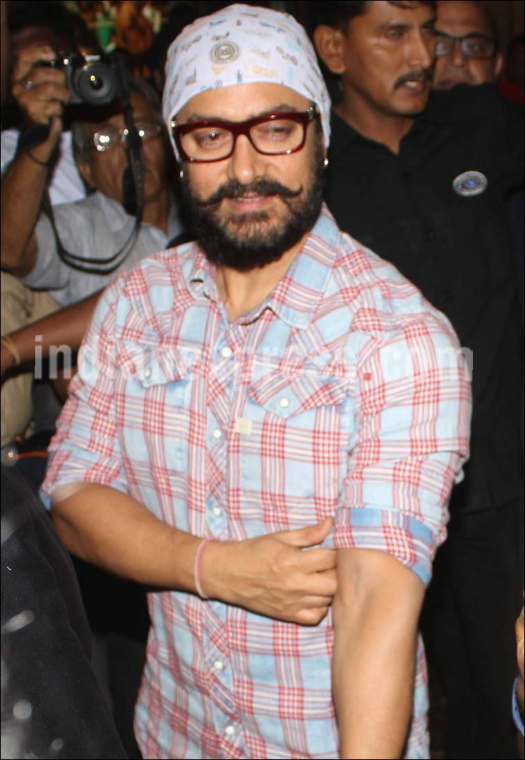 Before Dangal Check Out Aamir Khan Prepping For His Thugs