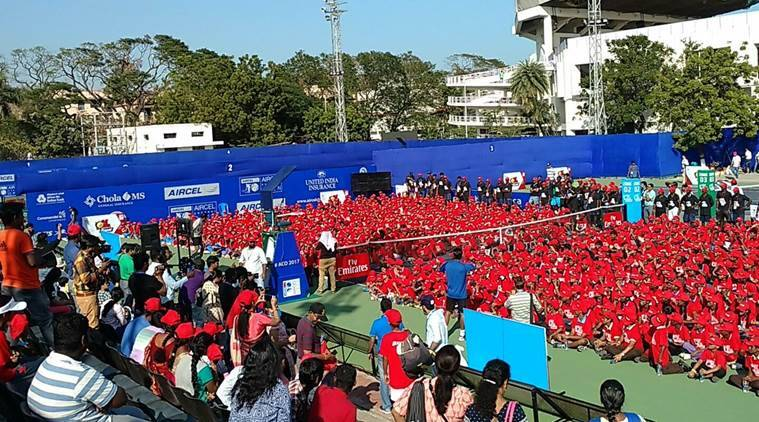 chennai open, chennai open 2017, chennai open scores, leander paes, rohan bopanna, chennai open players, largest tennis lesson, tennis news, sports news