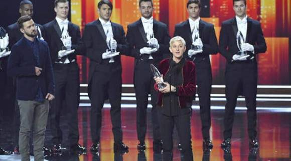 People's Choice Awards 2017, Ellen Degeneres, Ellen Degeneres show, Ellen Degeneres People's Choice, People's Choice