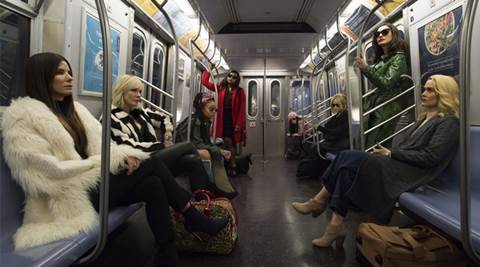 Oceans 8 first look: Its all about female swag, burglary and the art of blending in. See pic