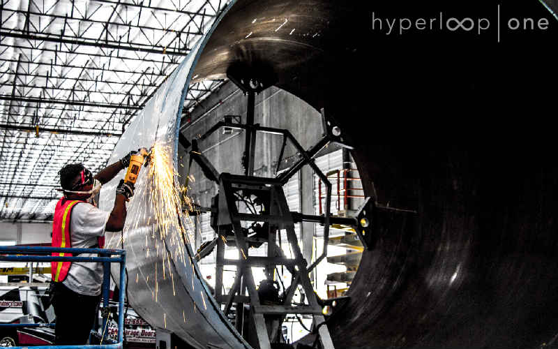 HyperLoop One, which has been around for two years, held a global competition in 2016 asking contestants to pitch a proposal on where all the network should be built.