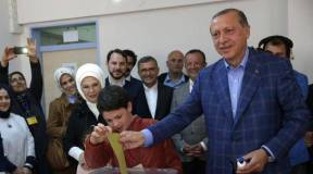 Image result for Two people killed in gunfight as Turkish vote in referendum