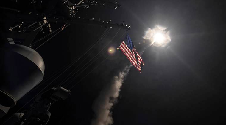 Image result for 59 tomahawk missile syria